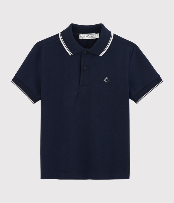 Boys' Short-sleeved Polo Shirt SMOKING
