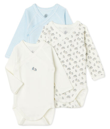 Babies' Long-Sleeved Bodysuit - 3-Piece Set . set