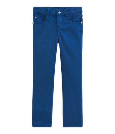 Boys' Trousers Limoges blue
