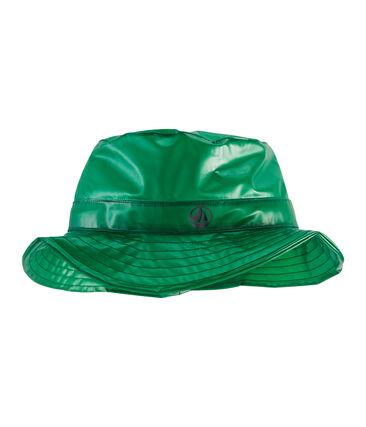 Children's bucket rain hat Prado green