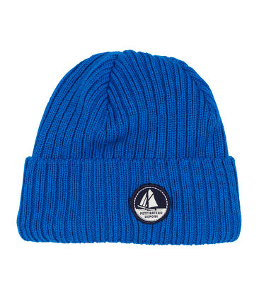 Unisex Woolly Hat Wave blue