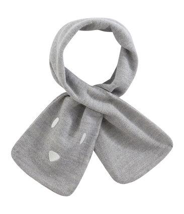 Unisex Baby Scarf Subway grey