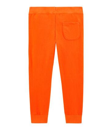 Boys' Trousers Carotte orange