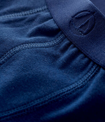 Boys' boxer shorts Medieval blue