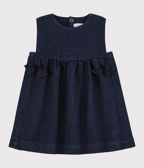 Baby girl's sleeveless dress JEANS