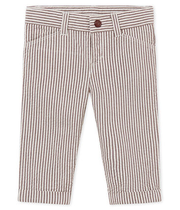 Baby boys' striped trousers