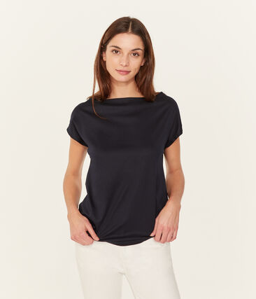 Women's short-sleeved sea island cotton t-shirt