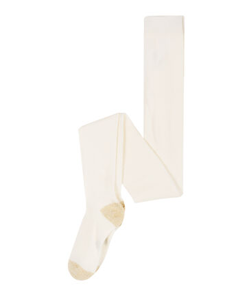Girls' Tights Marshmallow white