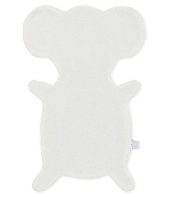 Unisex baby comforter Poussiere grey / Multico white