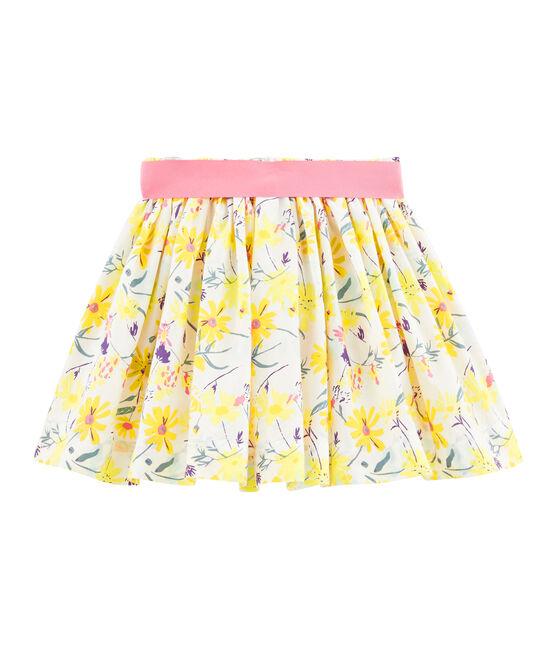 Girls' Skirt Marshmallow white / Multico white