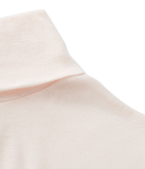 Women's undersweater in light cotton Fleur pink