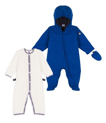 Unisex Babies' 3-in-1 Snowsuit Limoges blue