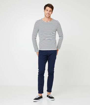 Men's iconic stripy breton top