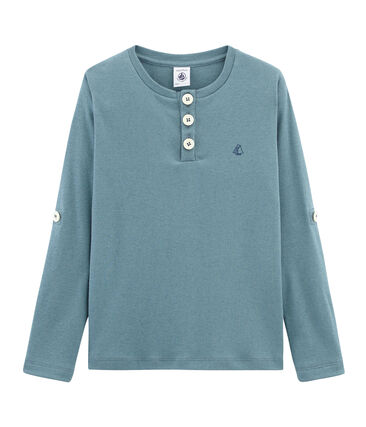 Boys' Long-sleeved T-shirt Fontaine blue