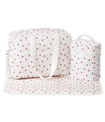 Baby girl's print nappy bag