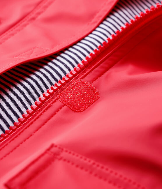 Baby Girls' Iconic Raincoat Signal red