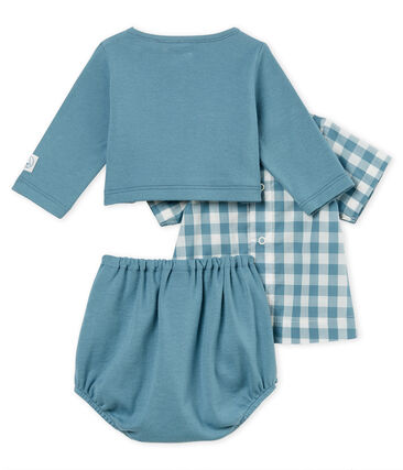 Baby boys' checked clothing - 3-piece set . set