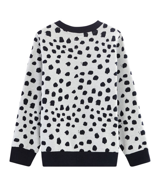 Sweatshirt Jean Jullien MARSHMALLOW/DOTTIES