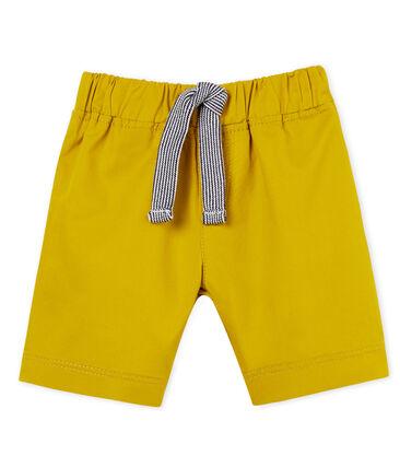 Baby boys' twill shorts
