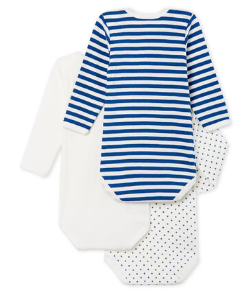 Baby Boys' Long-Sleeved Bodysuit - 3-Piece Set