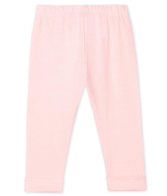 Baby Girls' Plain Knit Trousers MINOIS
