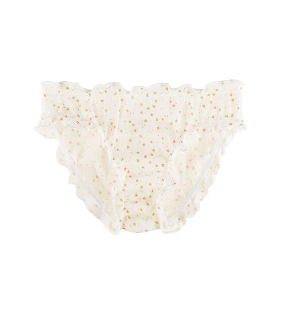 Girls' Knickers Marshmallow white / Or yellow