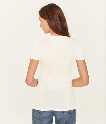 Set of 2 women's short-sleeved linen t-shirts