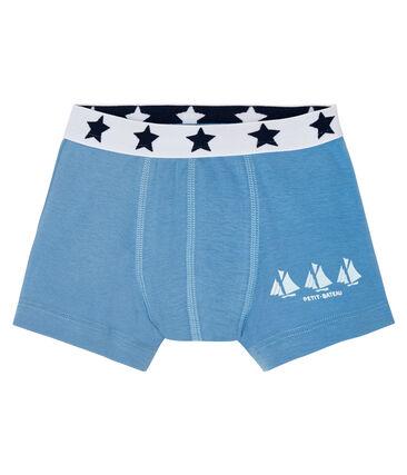 Boys' boxer shorts Alaska blue