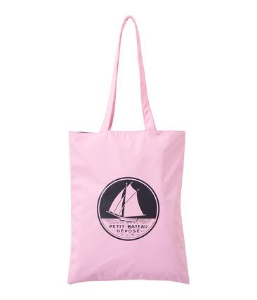 Women's plain waterproof shopping bag Babylone pink