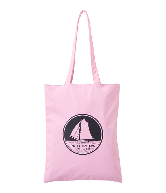 Women's plain waterproof shopping bag Babylone pink