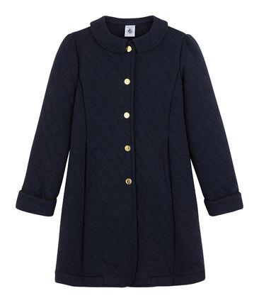 Girls' Tube Knit Coat Smoking blue