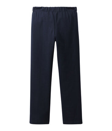 Girl's pants with flap