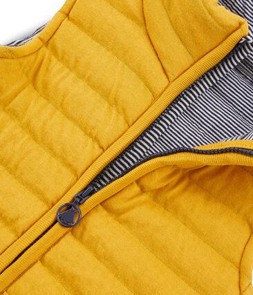 Unisex Children's Sleeveless Jacket Boudor yellow