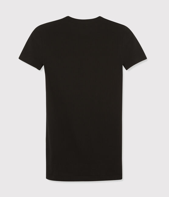 Women's Iconic Round Neck T-Shirt Noir black