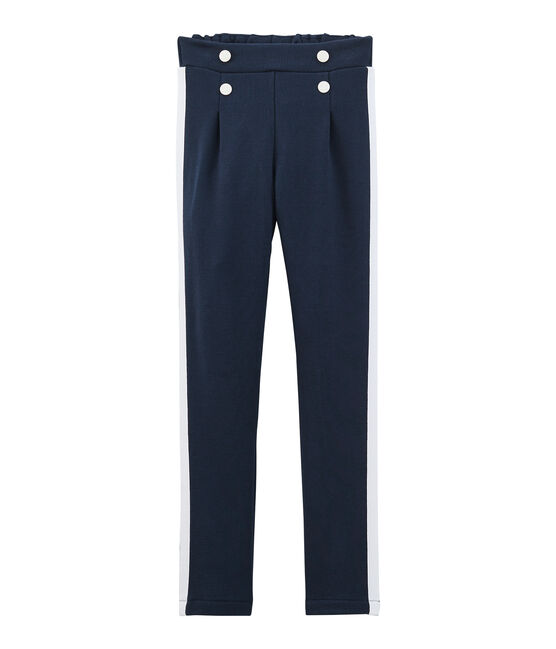 Girls' Trousers Haddock blue