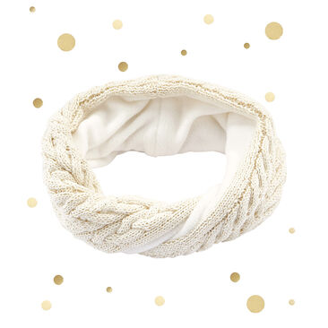 Child's wool blend snood