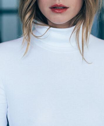 women's plain polo neck