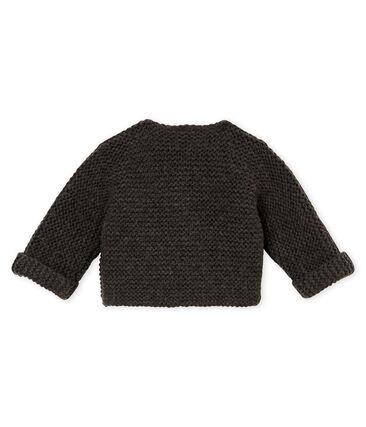unisex baby's garter stitch cardigan