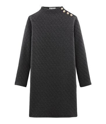 Women's Long-Sleeved Tube Knit Dress