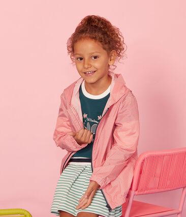 Unisex Children's Windbreaker Petal pink / Crystal blue