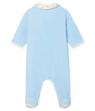 Baby Boys' Velour Sleepsuit