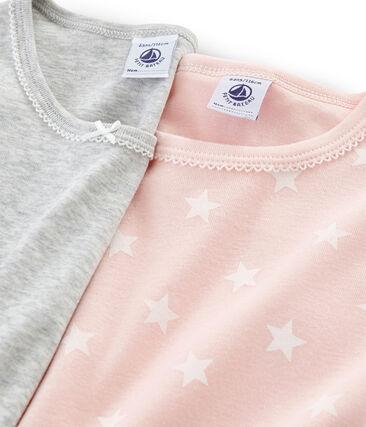 Girls' Short-sleeved T-Shirt - 2-Piece Set . set