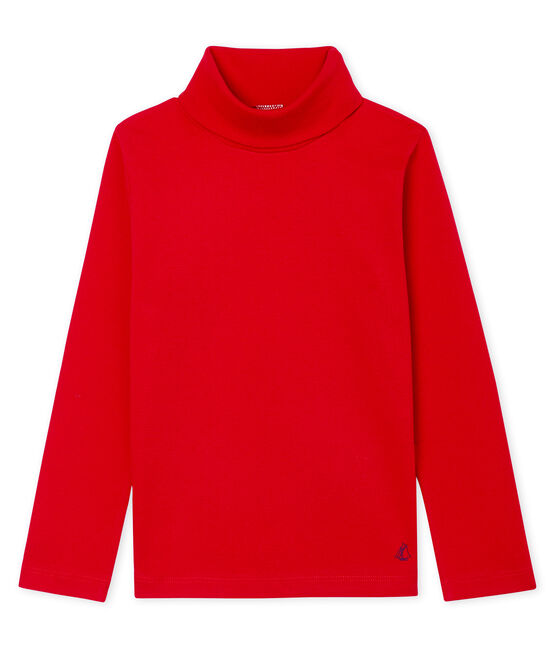 Unisex Children's Undershirt Terkuit red