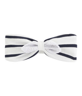 Hair band for baby girls Marshmallow white / Multico white