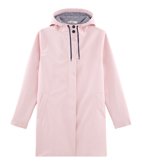 Women's long parka Joli pink