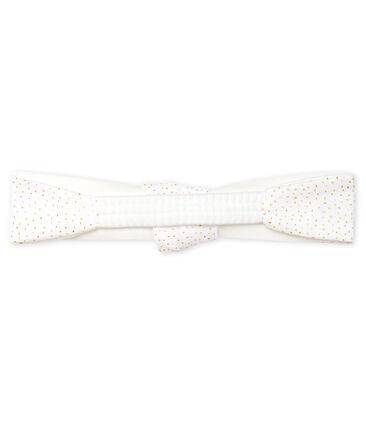 Girls' Headband Marshmallow white / Copper pink