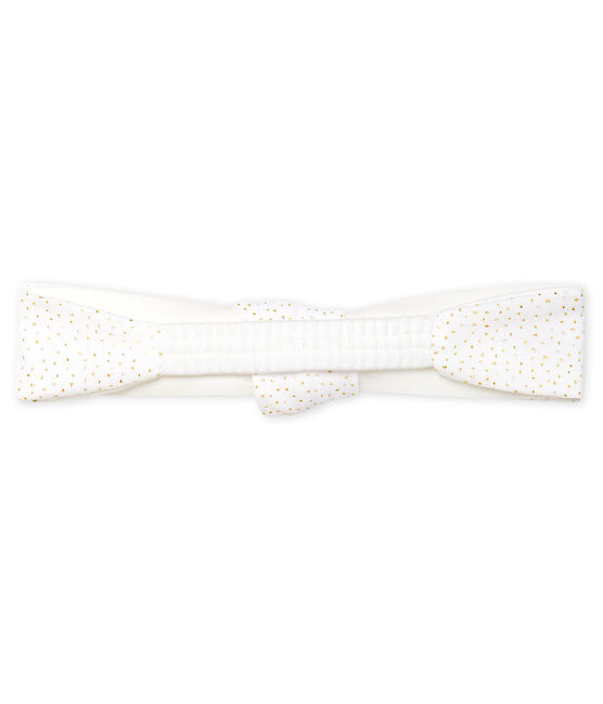 Girls' Headband Marshmallow white / Copper pink