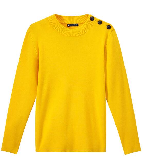 Women's sailor sweater Shine yellow