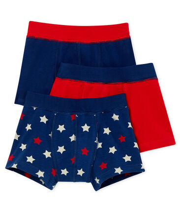 Set of 3 boys' boxers