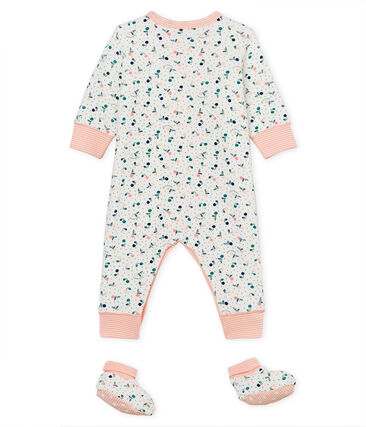 Baby Girls' Nightwear Set in Extra Warm Brushed towelling